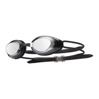 Gafas de natación polarizadas BLACK HAWK RACING polarized silver black