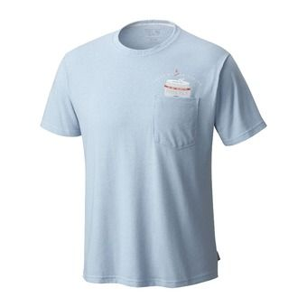 Tee-shirt MC homme NO CAN LEFT BEHIND™ heather grey goose