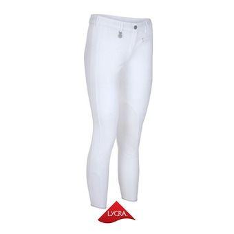 Pantalón con silicona mujer PRISCA blanco