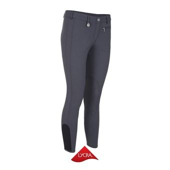Pantalón con silicona mujer PRISCA gris oscuro