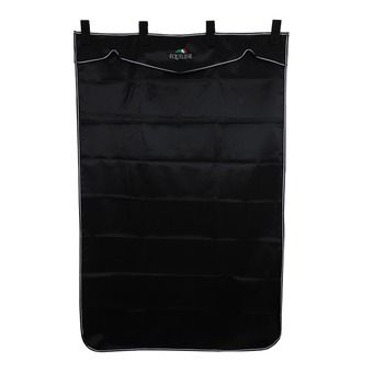 LONG STABLE CURTAIN 200x130 BLACK