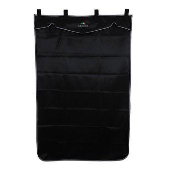 Tenture de boxe 200x130cm WAVE LONG black