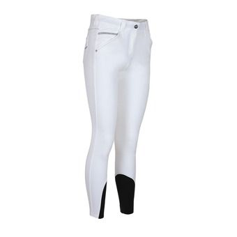 WOMAN STUDS BREECHES WITH X-GRIP JESSICA WHITE