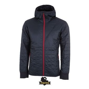 Chaqueta hombre HELIX stealth/oxblood