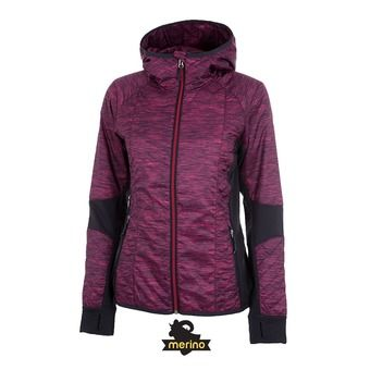 Chaqueta mujer HELIX pop pink/stealth
