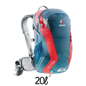 Sac à dos 20L  BIKE ONE bleu/rouge