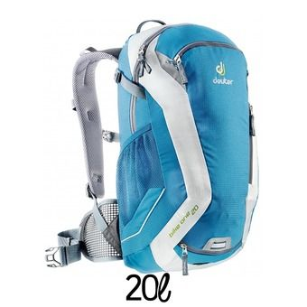 Sac à dos 20L  BIKE ONE bleu/blanc