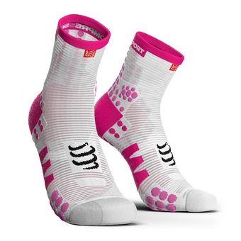 Calcetines RUN HIGH PRSV3 white/pink