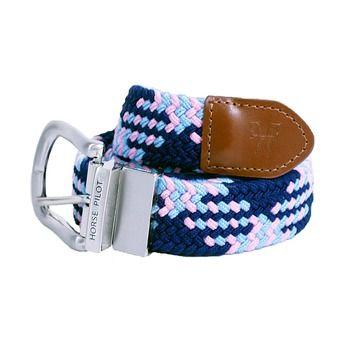 Cinturón EXCHANGE cielo/marino/rosa