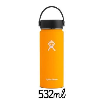 Gourde d'hydratation 532 ml WIDE MOUTH mango