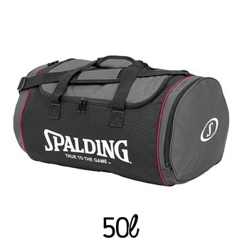 Sac de sports 50L TUBE anthracite/noir/rose/blanc