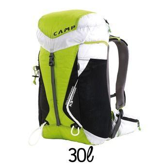 Sac à dos 30L CAMPACK X3 BACKDOOR vert/blanc