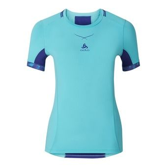 Camiseta mujer CERAMICOOL PRO blue radiance/spectrum blue