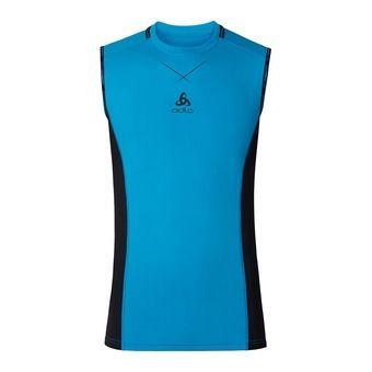 Camiseta de tirantes hombre CERAMICOOL PRO blue jewel/black