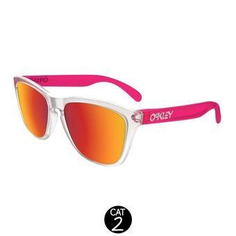 Gafas de sol FROGSKINS COLORBLOCK matte clear matte translucent pink w/ torch iridium