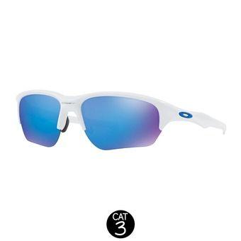 Gafas de sol FLAK BETA polished white / sapphire iridium