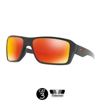 Gafas de sol polarizadas DOUBLE EDGE matte black / prizm ruby