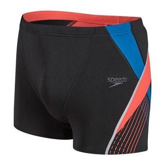 Boxer de bain homme FIT SPLICE black/blue/red