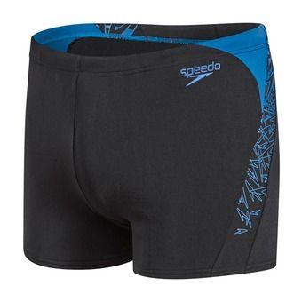 Boxer de bain homme BOOM SPLICE black/blue