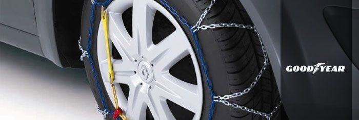 GOODYEAR CHAINES A NEIGE