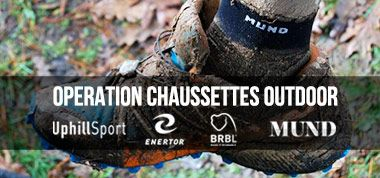 OPERATION CHAUSSETTES OUTDOOR