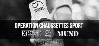 OPERATION CHAUSSETTES SPORT
