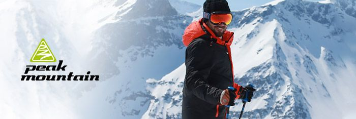 PEAK MOUNTAIN à bas prix sur PRIVATESPORTSHOP