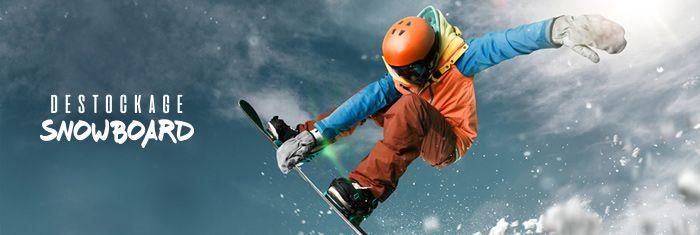 DESTOCKAGE SNOWBOARD à super prix chez PRIVATESPORTSHOP