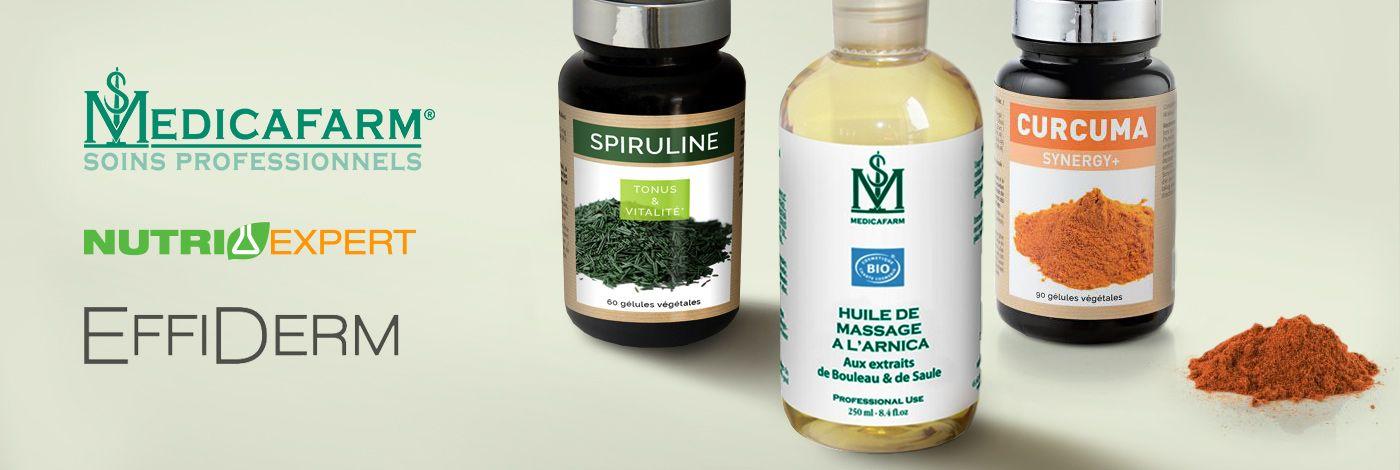MEDICAFARM EFFIDERM NUTRIEXPERT en vente privilège chez PRIVATESPORTSHOP