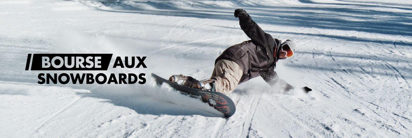 BOURSE AUX SNOWBOARDS en vente flash chez PRIVATESPORTSHOP