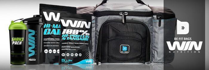 WIN & BE FIT BAGS