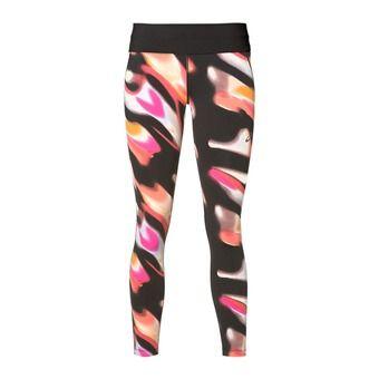 Collant 7/8 femme FUZEX sea wave diva pink