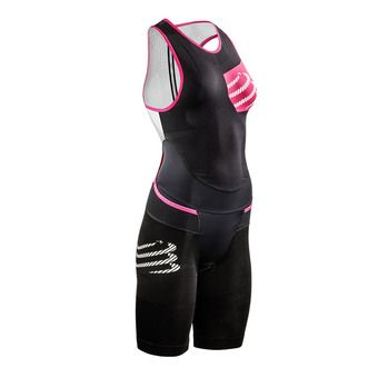 Compressport TR3 AERO - Combinaison trifonction Femme black