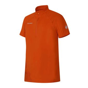 Maillot MC 1/2 zip homme MTR 141 dark orange