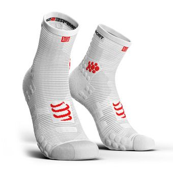 Compressport PRORACING V3 RUN - Chaussettes blanc