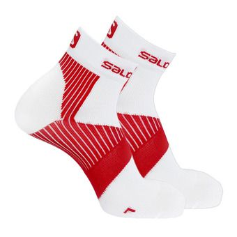 Calcetines SENSE SUPPORT white/red