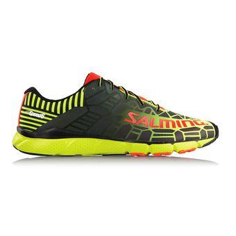 Zapatillas running hombre SPEED 6 amarillo flúor/negro