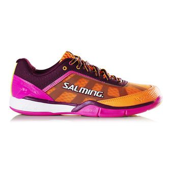 Chaussures indoor femme VIPER 4 violet/orange
