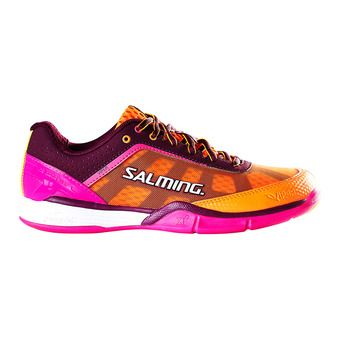 Salming VIPER 4 - Chaussures hand Femme violet/orange