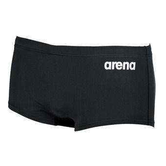 Arena SOLID SQUARED - Swimming Trunks - Men's - black/white