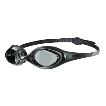 Arena SPIDER - Swimming Goggles - smoke black/black
