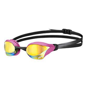 Arena COBRA CORE MIRROR - Lunettes de natation pink revo/pink black