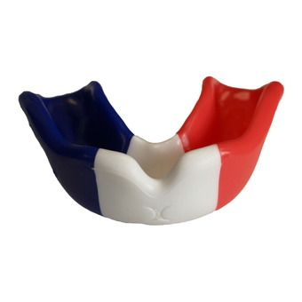 Protector bucal DRAPEAU azul/blanco/rojo