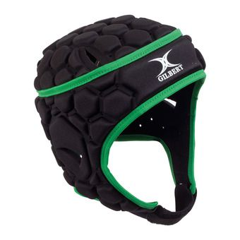 Gilbert FALCON 200 - Casco de rugby hombre black/green