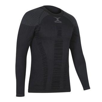 Camiseta térmica de compresión hombre  COMPRESSION negro