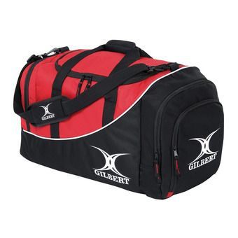 Bolsa de deporte 42L JOUEUR CLUB V2 M negro/rojo
