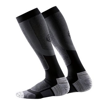 Chaussettes de compression homme ESSENTIALS ACTIVE THERMAL black/pewter