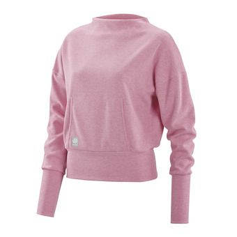 Sweat femme ACTIVEWEAR WIRELESS SPORT flamingo/marle