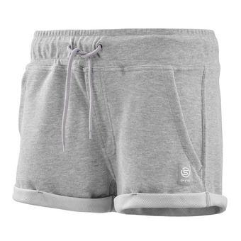 "Shorts - Women's - ACTIVEWEAR OUTPUT SPORT 2"" silver/marl"