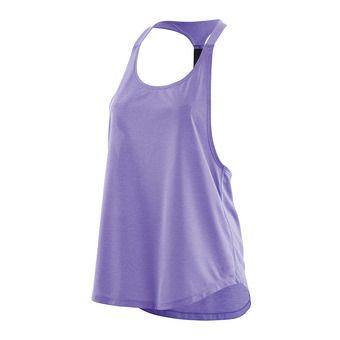 Camiseta de tirantes mujer ACTIVEWEAR REMOTE T BAR violet/marle